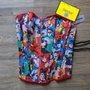 DC Comic Corset NEW with TAG